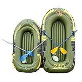 K2 Kayak - Aufblasbares 2-Personen-Kajakset Mit Schlauchboot, Zwei Aluminiumrudern Und...