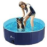 Pidsen Hundepool fur Große Hunde Swimmingpool PVC tragbare Faltbare Hunde...