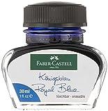 Faber-Castell 149839 - Tintenglas Königsblau, löschbar, 30 ml