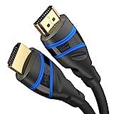 KabelDirekt – HDMI 2.1 Kabel, Ultra High Speed, Zertifiziert – 3 m – 8K@60Hz, 48G,...