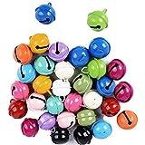 Reastar 24pcs Bunte Metallglöckchen, Glocke Glöckchen mit 12 Farben, Für...