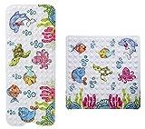 Bencas® rutschfeste Kinder Badewannenmatte - Schimmelresistent Handwaschbar...