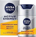 NIVEA MEN Active Energy Gesichtspflege Creme (50 ml), revitalisierende Gesichtscreme für...