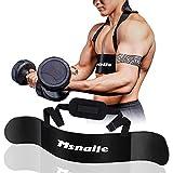 Msnaile Hochleistungs Bizeps Isolator Arm Blaster für Arm Bizeps & Trizeps Körperaufbau...
