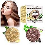 Haar Shampoo Bar, Anti Haarverlust Seife, Festes Shampoo, Reise Haarpflege,...