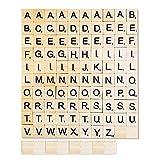 108 Holzbuchstaben A bis Z Holzpuzzle Buchstaben/Bastelgeschenke/Kinder...