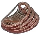 HKB ® 48 Stück Gewebe-Schleifbänder 13 x 457 Körnungen je 8 x...