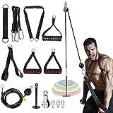 FOOING Unterarm Handgelenk Trainer Armmuskulatur Training Seil Seilzug System Arm Bizeps...