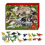 Adventskalender 2021 - GZWY Kinder Tiere Figuren Spielzeug Weihnachten 24 Tage Countdown...