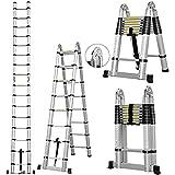 g/j/f Mehrzweck-Teleskopleitern mit A-Rahmen für Den Innen- und Außenbereich Klappbare...