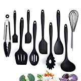Adkwse Küchenset Silikon, Kochbesteck Set Advanced Hitzebeständige Küchengeräte...