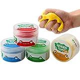 Therapie-knete Putty Hand Squeezer, 4 Stück Hand Therapieknete Theraputty für...