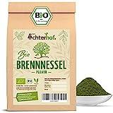 Bio Brennesselpulver (250g) | Rohkost | Brennesselblätter gemahlen | grünes...