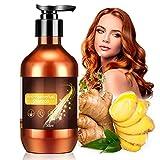 Haarshampoo,Anti Haarverlust Shampoo,Haarwachstums Shampoo,Ingwer Shampoo für...