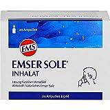 Emser Sole Inhalat mit Natürlichem Emser Salz –Inhalationslösung zur nasalen...