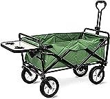 Eortzzpc Handwagen Multifunktions-Einkaufswagen Faltgarten Camping Kleiner Desktop-Design...