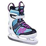 K2 Skates Mädchen Schlittschuhe Juno Ice — white - light blue — EU: 35 - 40 (UK: 3 -...