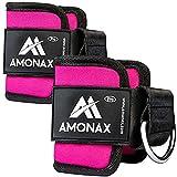 Amonax fußschlaufe kabelzug, fußmanschetten kabelzug für Fitness fußgewicht und...