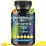 Vitamin B Komplex | PLATIN | hochdosiert | B12 - B6 - B1 - B2 Complex | Vegan | 1 Tablette...
