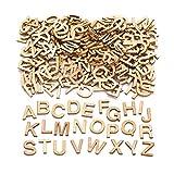 Baker Ross Mini-Großbuchstaben aus Holz (260 Stück) – für Kinder zum Basteln,...