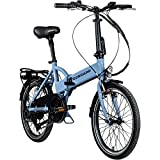 ZÜNDAPP Z101 20 Zoll E Bike Faltrad Damen Herren Elektrofahrrad klappbar...