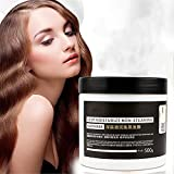 3 Min. Tiefenfeuchtigkeitsspendende Haarbehandlung, 500 ML Seidige Haarmaske,...