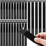 Honyear 25 Stück wiederverwendbare Klett-Kabelbinder, kabelbinder Klettverschluss, 3...