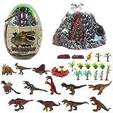 deAO 30-teiliges Jura-Dinosaurier Realistischen Figuren Spielset Mit...
