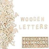 Pulluo 130 Stück Holzbuchstaben Klein Buchstaben Holz Buchstabenkasten Alphabet...