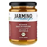JARMINO Knochenbrühe (4x)   100% Bio Huhn   Reich an Collagen   Paleo &...