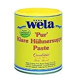 Klare Hühnersuppe 'Pur' - wela 1/1 Dose, Hühnerbouillon Paste für 40L,...
