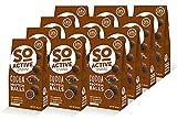 SO ACTIV Kakao Protein-Kugel Proteinbällchen Proteinsnack Eiweißsnack (16,4 % Protein)...