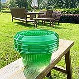 VDYXEW 20 Stücke Schnecken-Schutz | Schneckenkragen für Ihre Salatpflanzen und...
